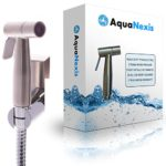 Aqua Nexis Premium Cloth Diaper Sprayer – #1 Quality – Stainless Steel Hand Held Bidet Toilet & Toilet Sprayer, w/Handheld No-Leak Attachment