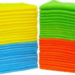 50 Pack – SimpleHouseware Microfiber Cleaning Cloth