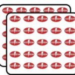 Oval Electrician (Lightning Bolt) Sticker for Scrapbooking, Calendars, Arts, Kids DIY Crafts, Album, Bullet Journals