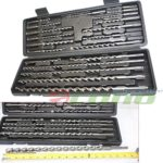 20 Pc Sds Plus Rotary Hammer Drill Bits Set Fit Hilti Bosch Dewalt & Milwaukee