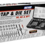 Performance Tool W4002DB 40-Piece Metric Tap And Die Set