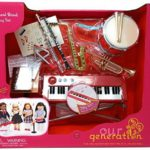 Our Generation – SCHOOL BAND PLAYSET INSTRUMENTS – Functional Keyboard, Comes with 15 Fun Music Accessories!